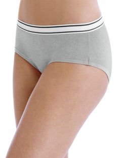 Hanes Women's Cotton Sporty Hipsters with Cool Comfort™  6-Pack