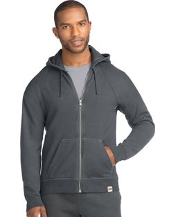 Hanes Men's 1901 Heritage Fleece Full Zip Hoodie