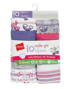 Hanes Toddler Girls' EcoSmart™ Hipsters 10-Pack