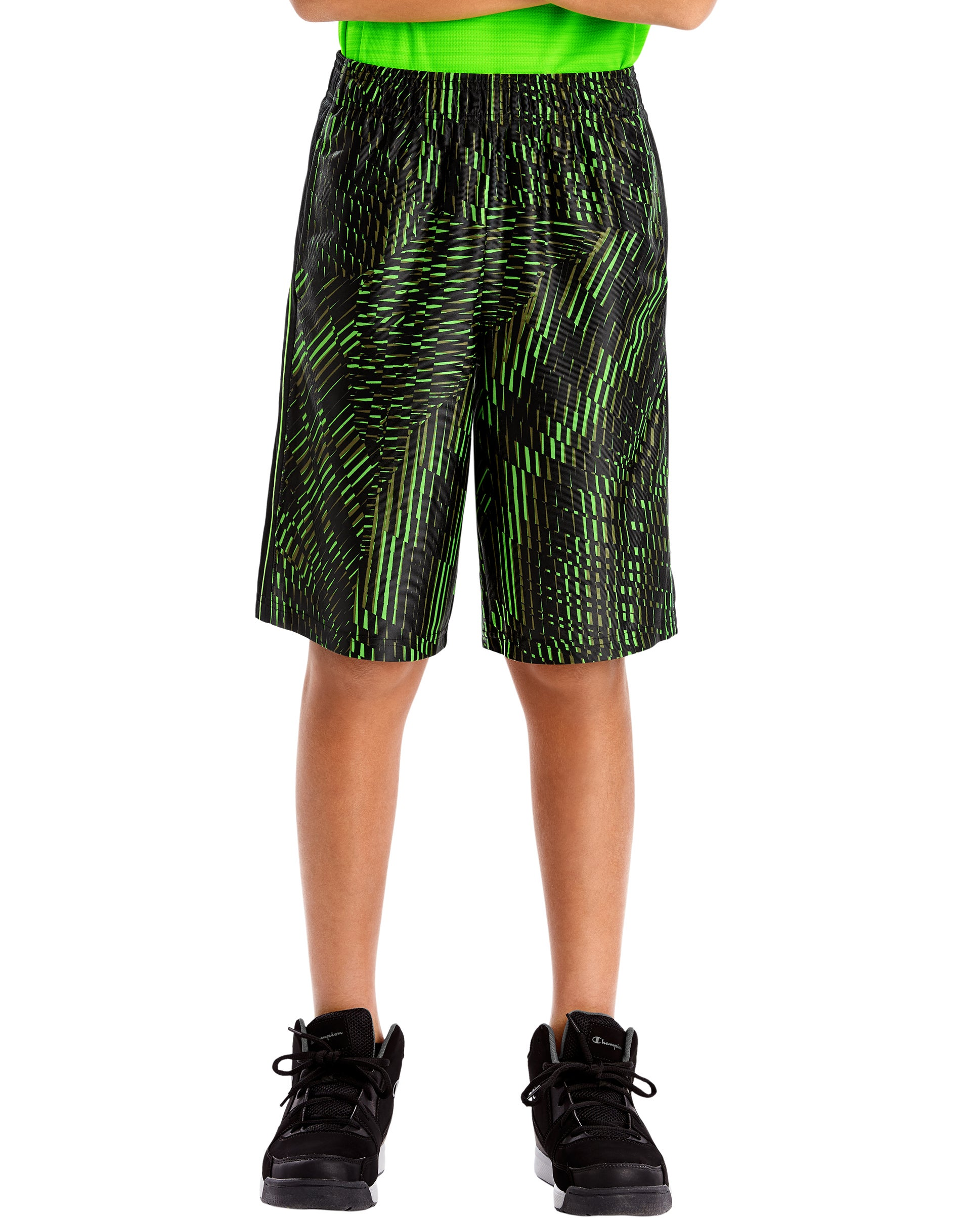 Hanes Sport Boys 9-inch Performance Shorts with Pockets