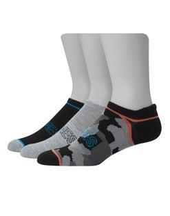Hanes Young Men's Casual Heel Shield 3-Pack