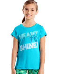 Hanes Sport™ Girls' Speed Dash Performance Tee