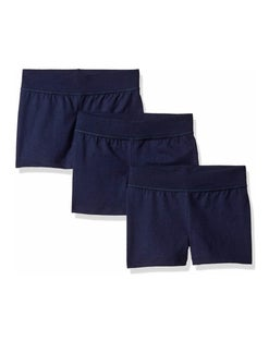Hanes Girls' Jersey Short 3-Pack