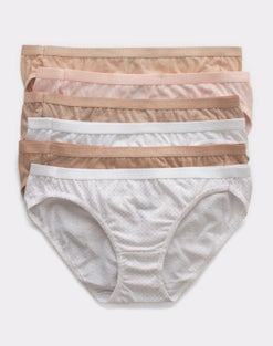 Hanes Ultimate® Breathable Cotton Bikini 6-Pack