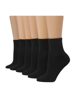 Hanes Women's Comfort Fit  Ankle Socks, 6-Pack