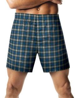 Hanes  Men's ComfortSoft® Tartan Boxers 2-Pack