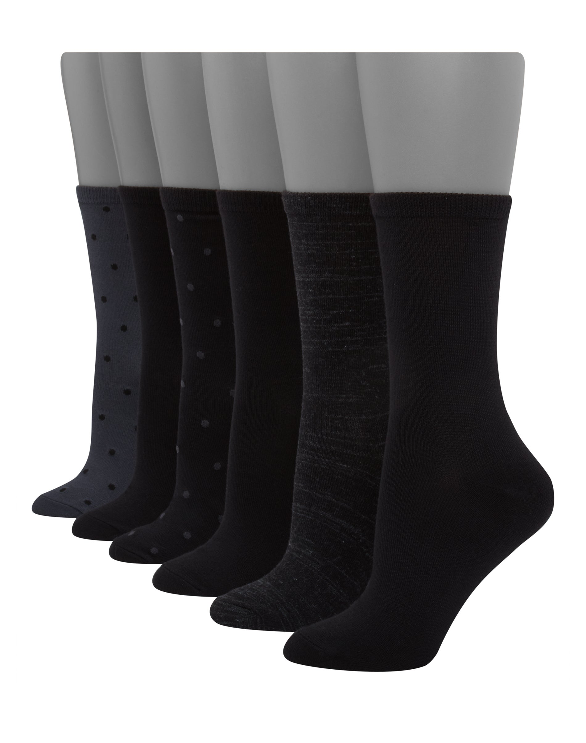 Hanes Women/'s Crew Socks