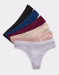 Hanes Comfort Flex Fit® Thong 6-Pack