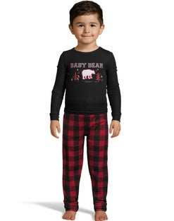 Dearfoams Infant Baby Bear PJ Set