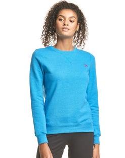 Hanes Athletics™ Women's EcoSmart® Fleece Crewneck Sweatshirt