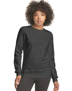 Hanes Athletics™ Women's EcoSmart® Fleece Crewneck Sweatshirt