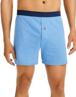 Hanes Men's FreshIQ® ComfortSoft® Knit Boxers 5-Pack