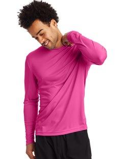 Hanes Sport™ Men's FreshIQ™ Cool DRI® Long Sleeve Tee 2-Pack