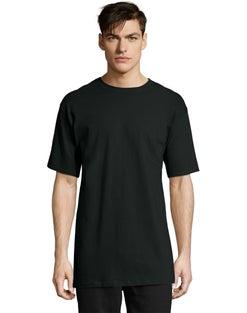 Hanes Men's Tall Beefy-T Crewneck Short-Sleeve T-Shirt LT-4XLT 2-Pack