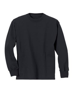 Hanes ComfortSoft® Kids' Long-Sleeve T-Shirt 3-Pack