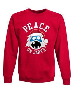 Hanes Boys' Ugly Christmas Crew Sweatshirt