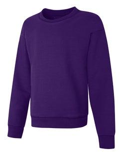 Hanes ComfortSoft™ EcoSmart® Girls' Crewneck Sweatshirt