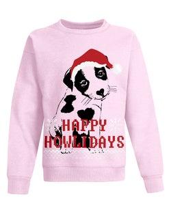 Hanes Girls' Ugly Christmas Crew Sweatshirt