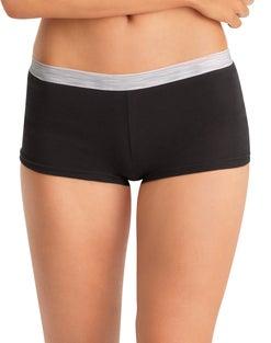 Hanes Cool Comfort™ Women's Cotton Sporty Boy Brief Panties 6-Pack