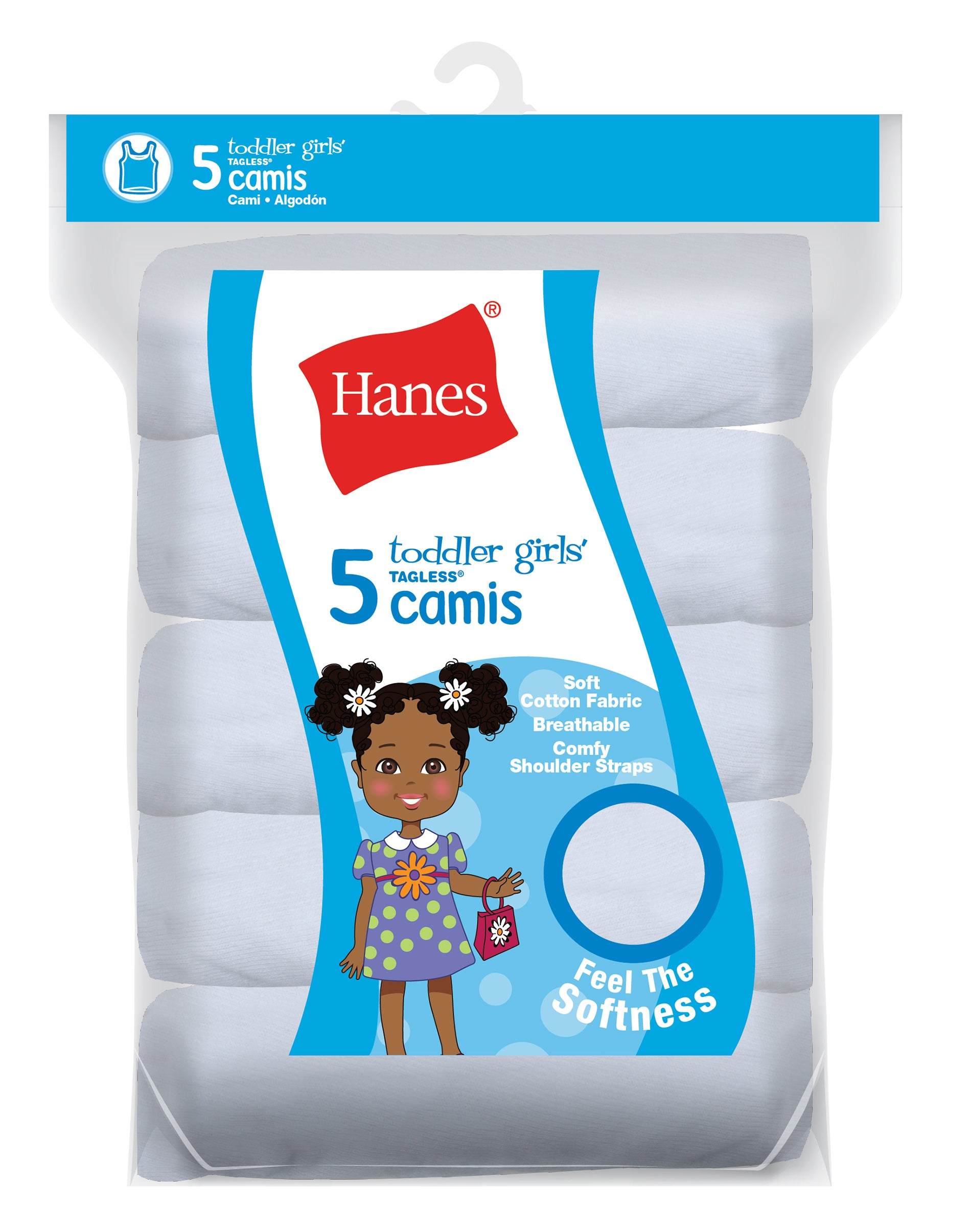 3-Pack Hanes Toddler Camisole