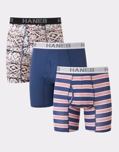 3-Pack Hanes Ultimate Men's Comfort Flex Fit Boxer Briefs
