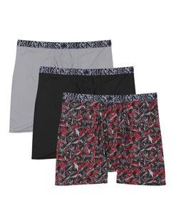 Hanes Men's X-Temp® Lightweight Mesh Boxer Briefs 3-Pack