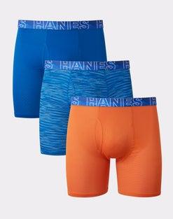 Hanes Men's X-Temp® Stretch Boxer Briefs 3-Pack