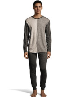 Hanes Jersey Knit Jogger & Split Front Top