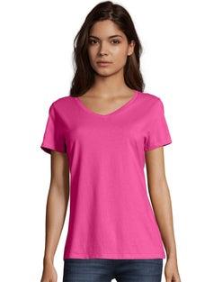 Hanes Nano-T® Women's V-Neck T-Shirt 2-Pack