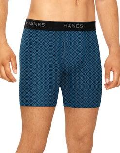 Hanes Men's Stretch Boxer Briefs With Comfort Flex® Waistband 4-Pack