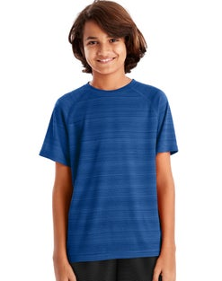 Hanes Sport™ Boys' Heathered Tech Tee
