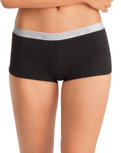Hanes Cool Comfort™ Women's Cotton Sporty Boy Brief Panties 6-Pack