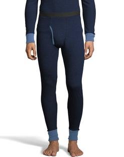 Hanes Men's 2-color Fusion Knit Thermal Pant