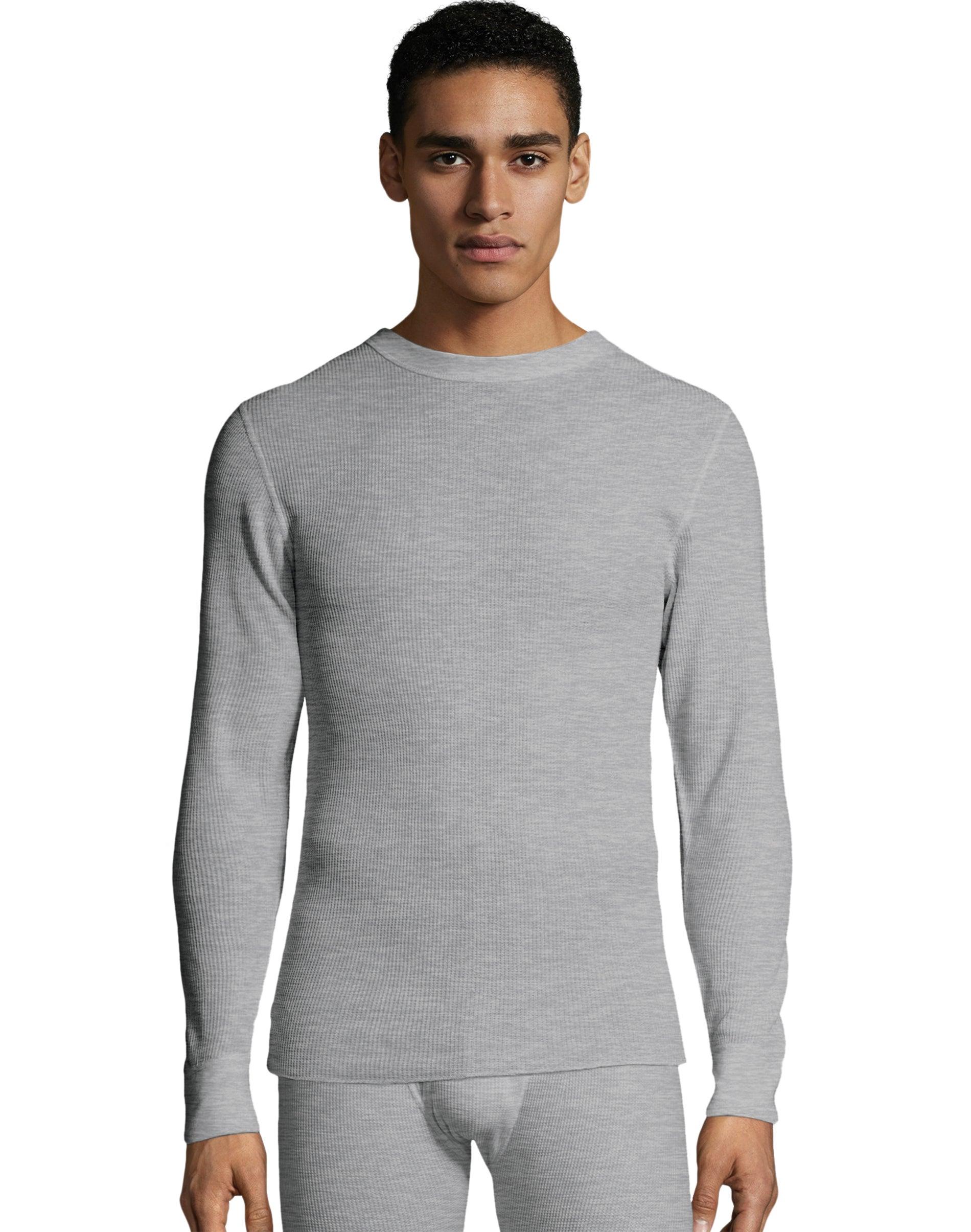 Details about  /Hanes Mens Navy Thermal Crew Neck Top ~ Underwear ~ Medium