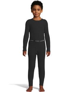 Hanes Boys' Waffle Knit Thermal Set