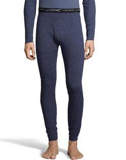 Hanes Men's Space Dye 4-Way Stretch Thermal Pant