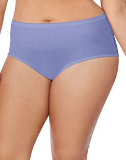 Just My Size TAGLESS® Cotton Brief Panties, 8-Pack