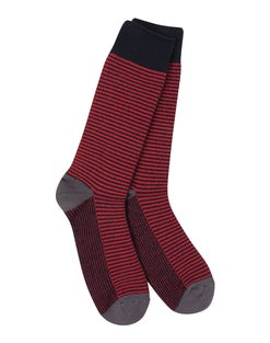 World's Softest® Men's Colorblock Crew Sock