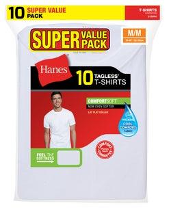 Hanes Men's Crewneck Super Value 10-Pack