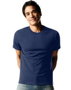 Hanes Men's FreshIQ® ComfortSoft® Dyed Crewneck Undershirt 4-Pack