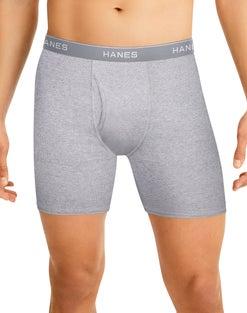 Hanes Men's Tagless® Boxer Briefs 6-Pack