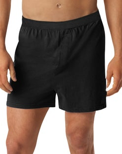 Hanes TAGLESS® Men's Knit Boxers 3XL-5XL 3-Pack