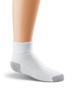 Hanes Classics Boys' Ankle EZ Sort® Socks 6-Pk