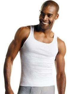Hanes Men's FreshIQ® ComfortSoft® Tank Undershirt 3-Pack