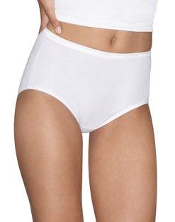 Hanes Platinum Women's Cotton Creations® Brief 4-Pack
