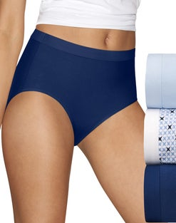 Hanes Ultimate™ Women's Constant Comfort® X-Temp® Brief 3-Pack