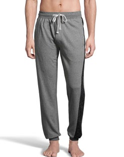 Hanes Men's 1901 Heritage French Terry Jogger Pant with Side Panels