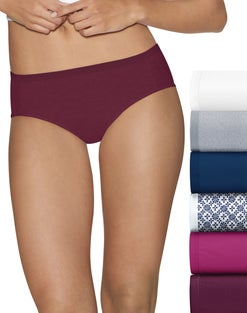 Hanes Ultimate™ Cotton Comfort Cool Dri® Hipster 6-Pack (includes 1 Free Bonus Hipster)