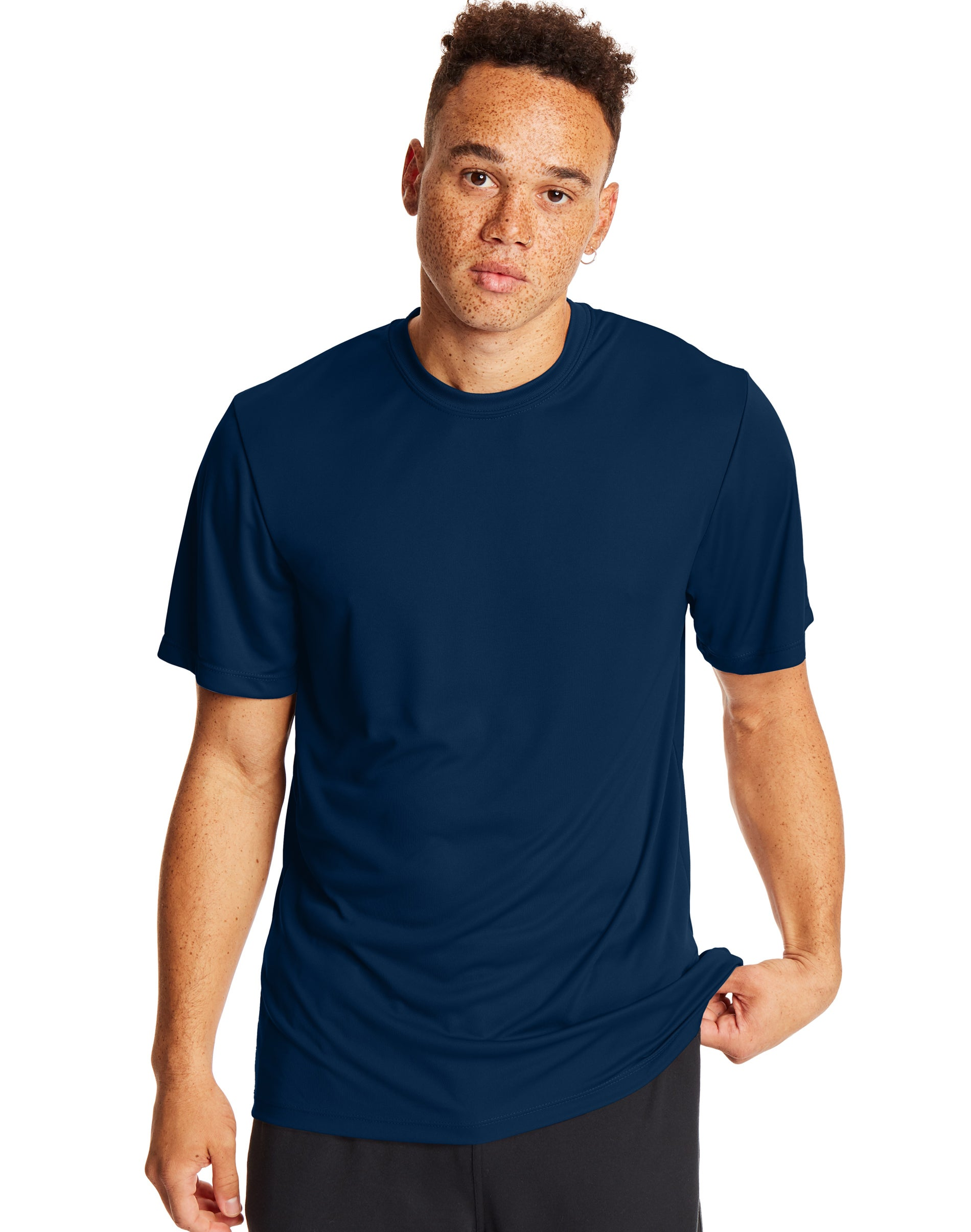 15 COLORS Hanes Adult X-Temp Unisex Performance T-Shirt Tagless S-3XL
