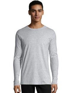 Hanes Nano-T® Men's Long-Sleeve T-Shirt